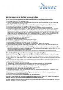 thumbnail of Wartungsvertrag-Leistungen