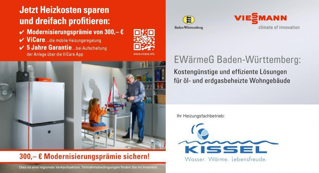 Kissel Viessmann EWärmeG Aktion